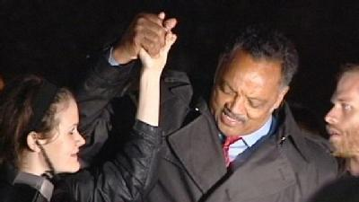 Rev. Jesse Jackson Speaks To Occupy Cincinnati Protestors