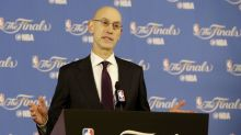 NBA commissioner Adam Silver makes a case for legalized in-game betting