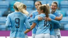 Chloe Kelly shines as Manchester City take charge of last-16 tie with Fiorentina