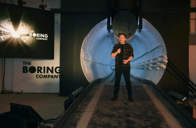 Elon Musk's Boring Co. raises $120 million in outside funding