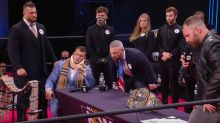 Wrestling-Showdown mit Clou: Moxley trickst alle aus