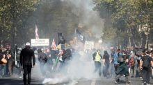 Manifestações em Paris marcadas por confrontos e prisões