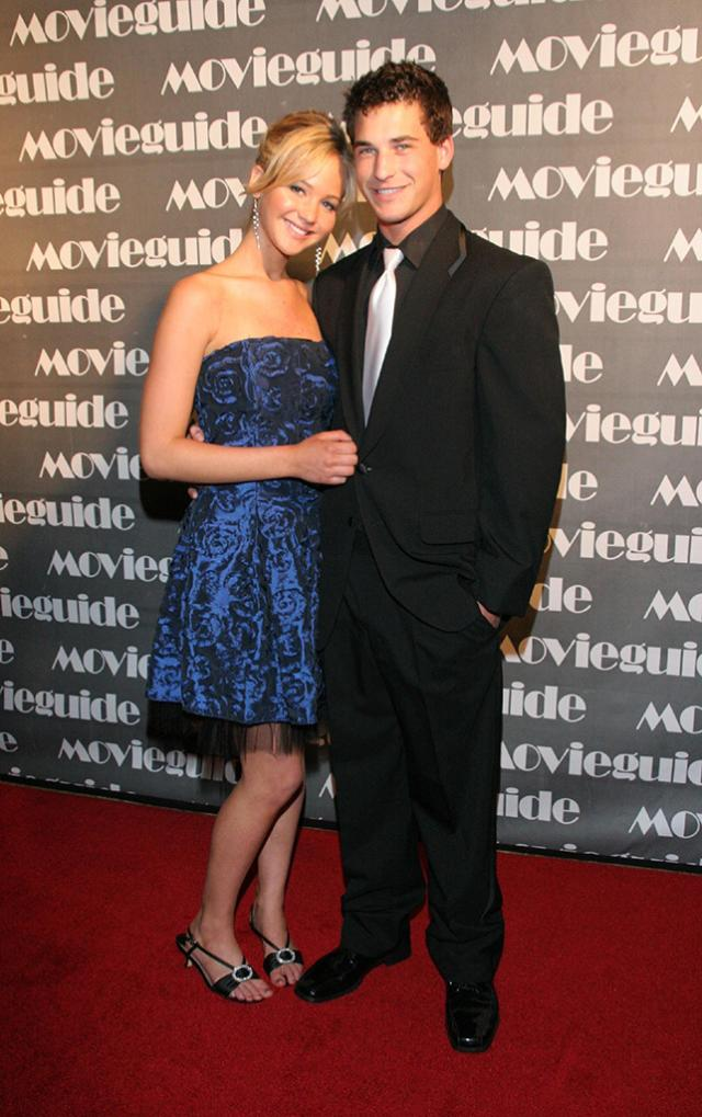 Clay Adler with Jennifer Lawrence at the 15th Annual Movieguide Awards in 2007. (Photo: Getty Images)
