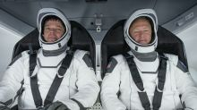 Nasa astronauts set for first splashdown return in 45 years