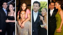 A look at Jennifer Lopez's four other engagements... and the rings worth millions