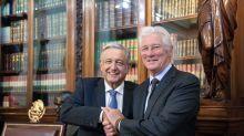 Richard Gere y lo que nadie vio de él tras reunirse con López Obrador