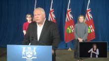 Ontario lowers gathering limits