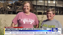 Women hailed as heroes for saving lives during fire before first responders arrived: 'Girl power'