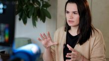La leader de l'opposition biélorusse Svetlana Tikhanovskaya réclame la médiation d'Emmanuel Macron