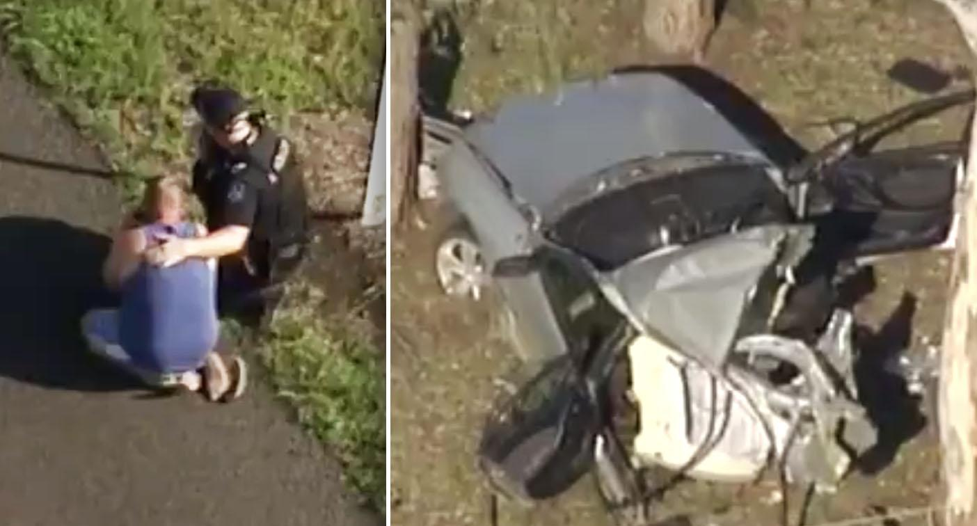 Two young children killed in horrific crash during wild storm