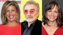 Burt Reynolds Explains Those Strange Comments He Made About Sally Field and Hoda Kotb