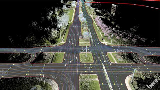 Here and MobilEye team up on self-driving tech for automakers