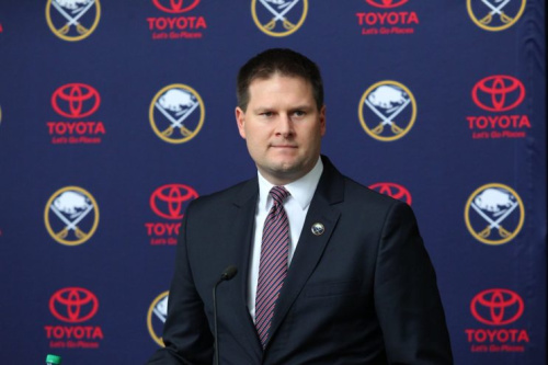 Jason Botterill photo tweeted by Buffalo Sabres.