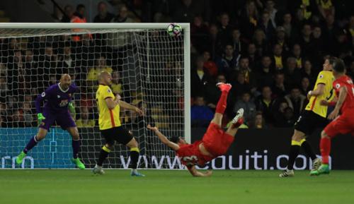 Premier League: 35. Spieltag: Fallrückzieher-Hammer! Can ballert Reds Richtung CL
