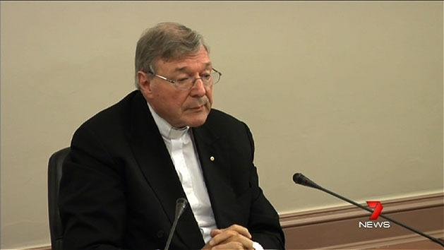 Pell 'absolutely sorry' for church abuse