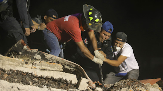 More than 200 dead as major quake rocks Mexico