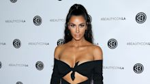 Kim Kardashian West Brings Sultry Beachside Style to the Red Carpet