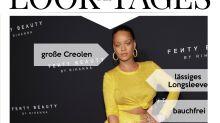 Look des Tages: Rihanna im goldgelben Stilmix