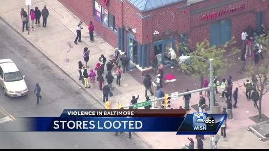 Former WISN 12 News anchor says cleanup underway in Baltimore