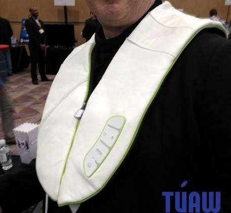CES 2013: iMusic BodyRhythm wants to pummel your shoulders via touch input