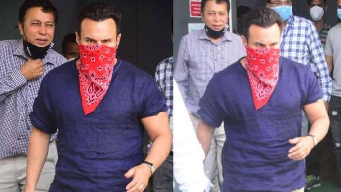 Saif Ali Khan faces online trolling after getting COVID-19 vaccine - Yahoo India News