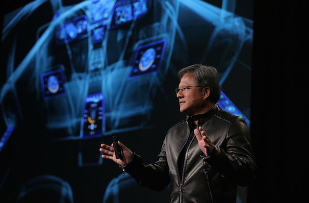 NVIDIA's car of the future drives itself, has a gorgeous digital dashboard
