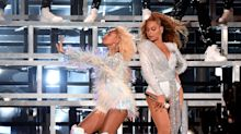 Beyoncé and Solange Knowles Fell Onstage Coachella