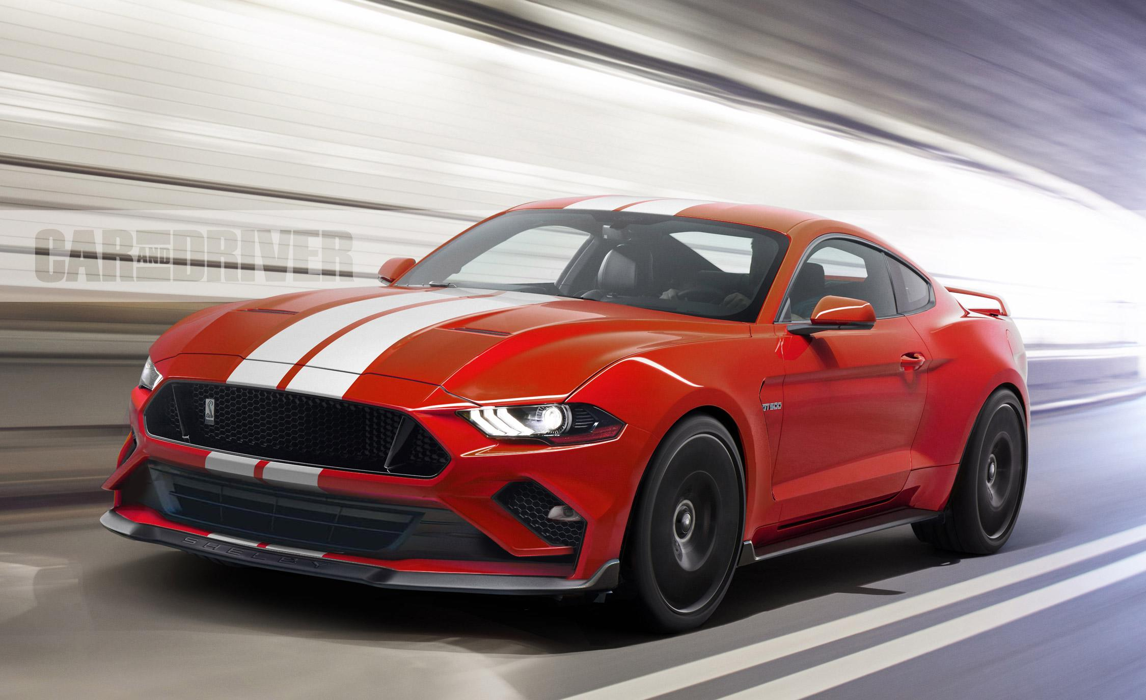 2018 ford mustang shelby gt500 a legend reborn again - Mustang shelby ...