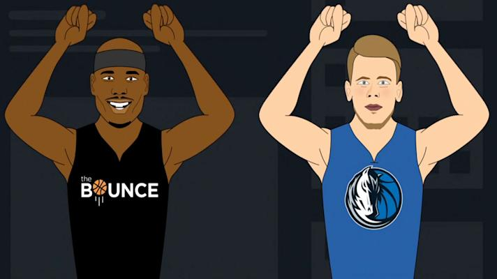 The Bounce - Luka Doncic earns first of many awards to come