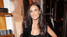 Demi Moore looks ageless as she celebrates 54th birthday