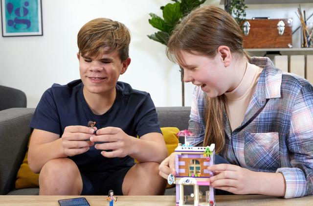 Lego offers instructions for visually impaired builders