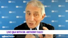 What Dr. Fauci says when asked about Trump's crowded rallies