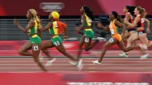 Thompson-Herah defends Olympic sprint title, Bromell struggles