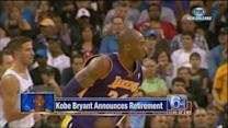NBA reacts to Bryant's retirement announcement