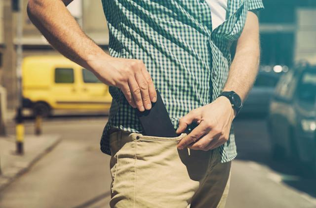 California advises against keeping your phone in your pocket