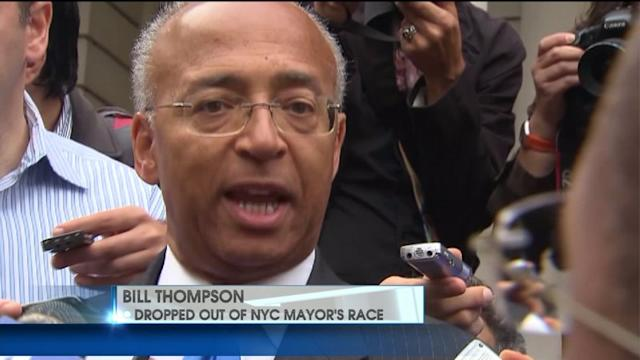 Bill Thompson Drops Out Of Mayoral Race