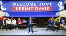 Newly hired Kermit Davis says Ole Miss will 'be a team that respects the flag'