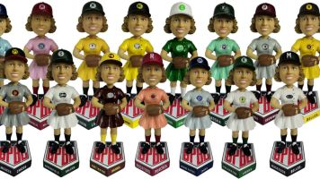Bobbleheads to honor female baseball players