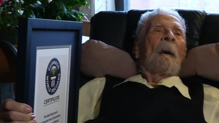 At 111, oldest living man says still thinking about what to achieve next