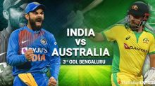 India vs Australia 3rd ODI Live Cricket Score Updates: Shami strikes early, Warner departs