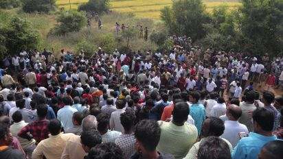 Police kill suspects after horrific rape in India