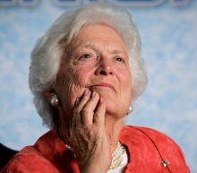 Public figures react to the death of Barbara Bush