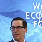 DAVOS-Get an economics degree Greta, then we'll talk - U.S. Treasury chief