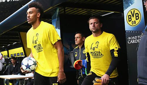 Champions League: Emotionale Botschaften von Bartra und Weidenfeller