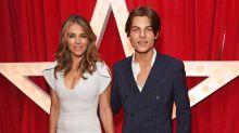 Elizabeth Hurley shares lookalike son Damian's new beauty campaign: 'Ravishing'