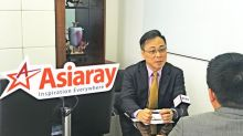 """Mr. Vincent Lam, Chairman of Asiaray, Accepted Interview by """"Xin Wen Lian Bo"""" Programme of China Central Television"""
