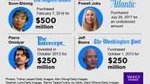 Benioff, Bezos, Jobs: Tech billionaires are going 'full Rosebud'