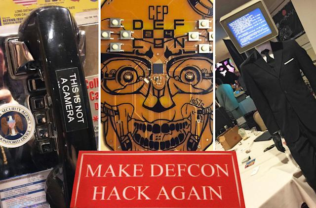 The hysterical hacking headlines of Def Con 24