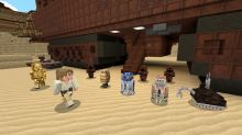 Star Wars skins, planets and sounds are live in 'Minecraft'
