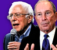 There are only three viable presidential candidates, according to Mike Bloomberg's campaign